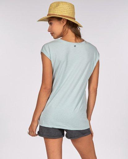 2 All Night T-Shirt Bleu H3SS07BIP8 Billabong