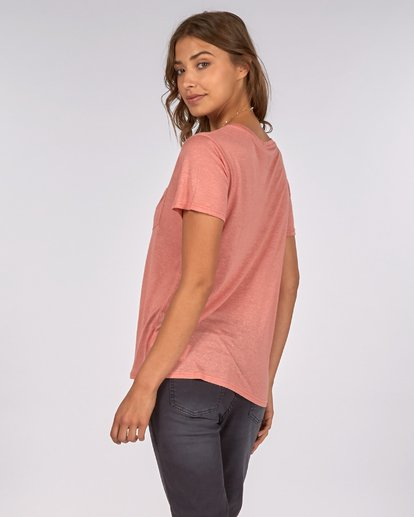 2 Costa Mesa T-Shirt Orange H3SS09BIP8 Billabong