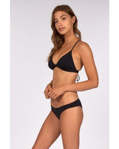 1 Sol Searcher Twist Bandeau Bikini Top Black H3ST03BIP8 Billabong
