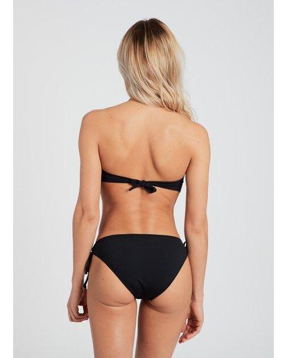 3 Sol Searcher Twist Bandeau Bikini Top Black H3ST03BIP8 Billabong