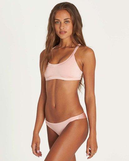 2 Sol Searcher Crop Tank Bikini Top Rosa H3ST08BIP8 Billabong