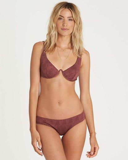 1 Way To Love Wired Bikini Top Violett H3ST26BIP8 Billabong