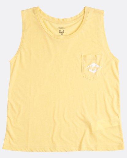 1 Skyway T-Shirt Jaune H3TT03BIP8 Billabong