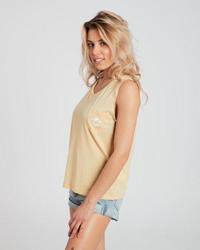 3 Skyway T-Shirt Jaune H3TT03BIP8 Billabong