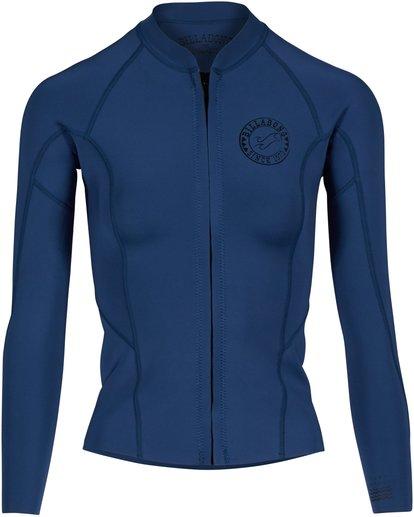 0 1Mm Surf Capsule Peeky Front Zip Jacket Blau H41G02BIP8 Billabong