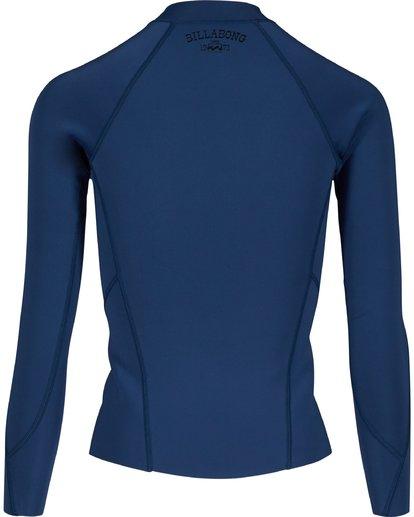 1 1MM Surf Capsule Peeky Front Zip Jacket Bleu H41G02BIP8 Billabong