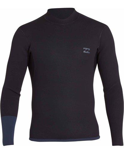 1 2/2 Revolution Dbah Reversible Wetsuit Jacket Gris H42M02BIP8 Billabong