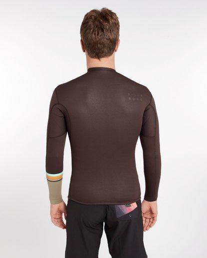 3 2/2 Revolution Dbah Reversible Wetsuit Jacket Marron H42M02BIP8 Billabong