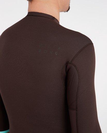 6 2/2 Revolution Dbah Reversible Wetsuit Jacket Marron H42M02BIP8 Billabong