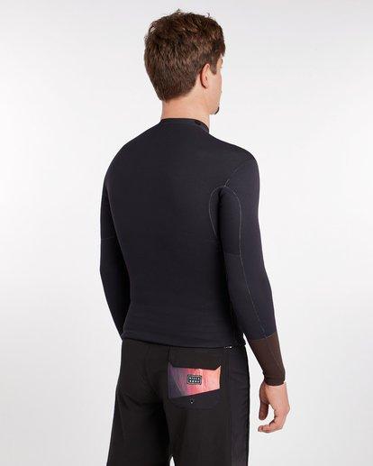 8 2/2 Revolution Dbah Reversible Wetsuit Jacket Marron H42M02BIP8 Billabong