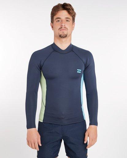 0 2/2 Revolution Interchange Reversible Wetsuit Jacket Gris H42M03BIP8 Billabong