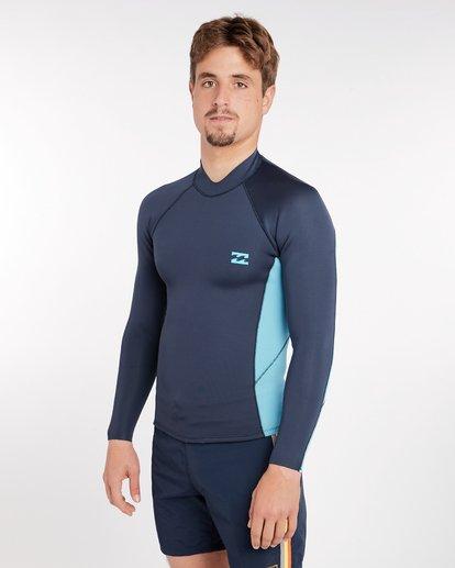 1 2/2 Revolution Interchange Reversible Wetsuit Jacket Gris H42M03BIP8 Billabong