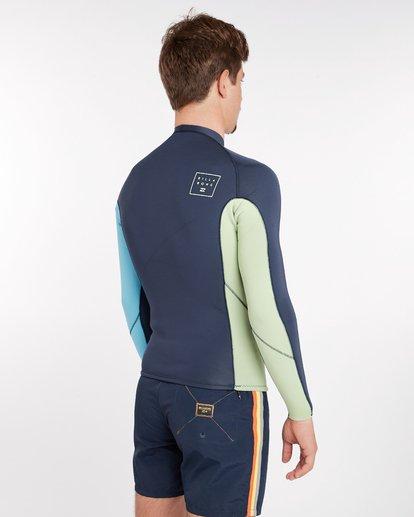 2 2/2 Revolution Interchange Reversible Wetsuit Jacket Gris H42M03BIP8 Billabong