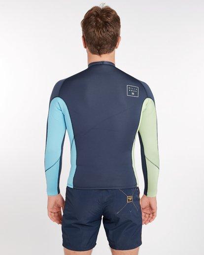 3 2/2 Revolution Interchange Reversible Wetsuit Jacket Gris H42M03BIP8 Billabong