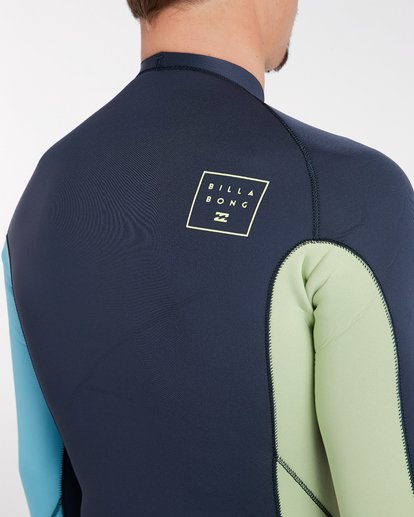 6 2/2 Revolution Interchange Reversible Wetsuit Jacket Gris H42M03BIP8 Billabong