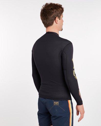 2 2/2 Revolution Pumpr Reversible Wetsuit Jacket Noir H42M06BIP8 Billabong