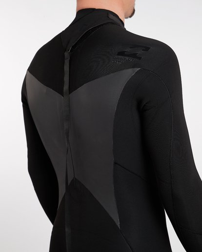 5 2/2 Absolute Comp Back Zip Long Sleeve Springsuit Noir H42M10BIP8 Billabong