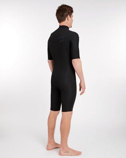 2 2/2 Revolution Gbs Chest Zip Spring Wetsuit Noir H42M14BIP8 Billabong