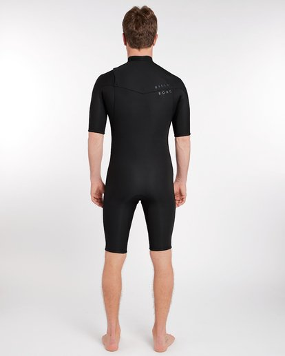 3 2/2 Revolution Gbs Chest Zip Spring Wetsuit Noir H42M14BIP8 Billabong