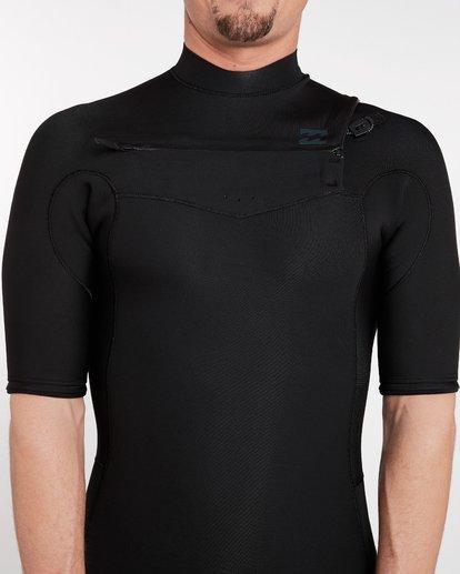 4 2/2 Revolution Gbs Chest Zip Spring Wetsuit Noir H42M14BIP8 Billabong