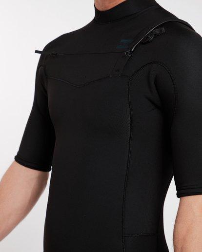 5 2/2 Revolution Gbs Chest Zip Spring Wetsuit Noir H42M14BIP8 Billabong