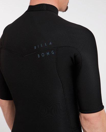 6 2/2 Revolution Gbs Chest Zip Spring Wetsuit Noir H42M14BIP8 Billabong