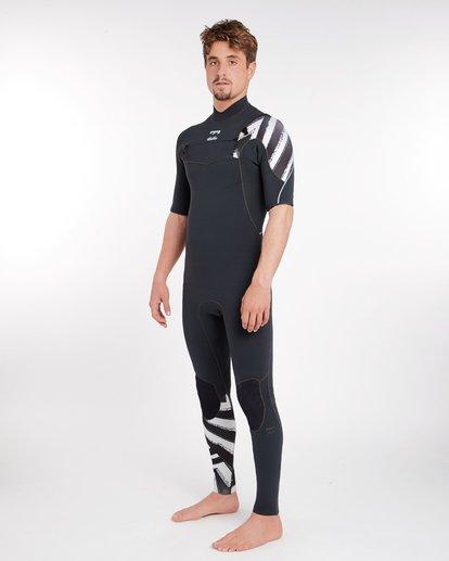 1 2/2 Furnace Comp Chest Zip Spring Wetsuit Noir H42M16BIP8 Billabong