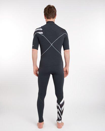 3 2/2 Furnace Comp Chest Zip Spring Wetsuit Noir H42M16BIP8 Billabong