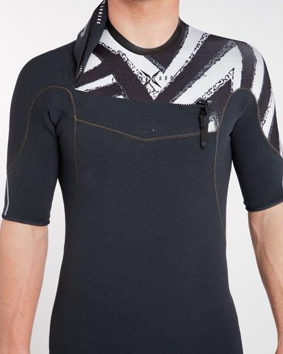 4 2/2 Furnace Comp Chest Zip Spring Wetsuit Noir H42M16BIP8 Billabong