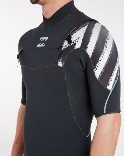5 2/2 Furnace Comp Chest Zip Spring Wetsuit Noir H42M16BIP8 Billabong
