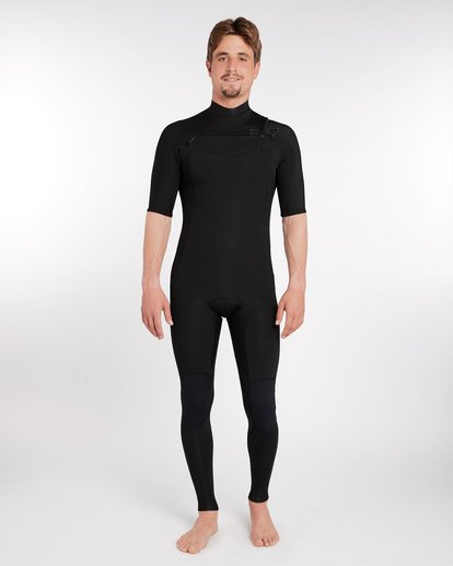 0 2/2 Revolution DBAH GBS Chest Zip Spring Wetsuit Noir H42M17BIP8 Billabong