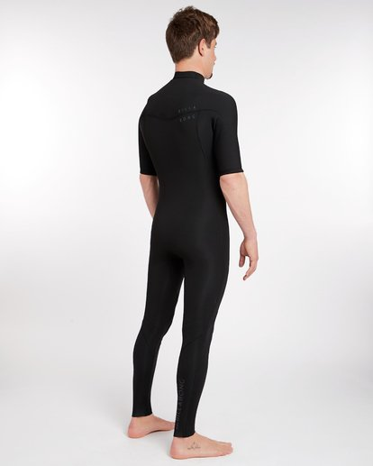 2 2/2 Revolution Dbah Gbs Chest Zip Spring Wetsuit Noir H42M17BIP8 Billabong