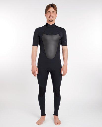 0 2/2 Absolute Comp Flatlock Spring Wetsuit Noir H42M19BIP8 Billabong