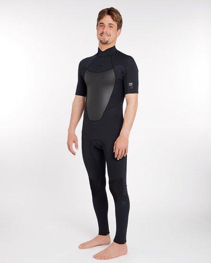 1 2/2 Absolute Comp Flatlock Spring Wetsuit Noir H42M19BIP8 Billabong