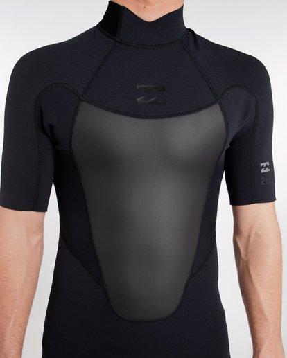 4 2/2 Absolute Comp Flatlock Spring Wetsuit Noir H42M19BIP8 Billabong