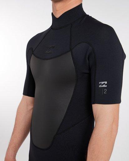 5 2/2 Absolute Comp Flatlock Spring Wetsuit Noir H42M19BIP8 Billabong