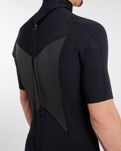 7 2/2 Absolute Comp Flatlock Spring Wetsuit Noir H42M19BIP8 Billabong