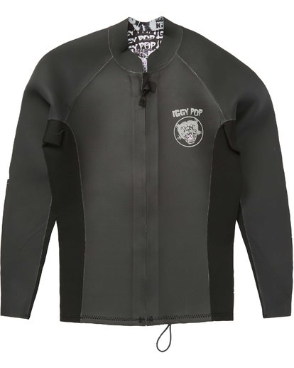 1 2/2 Wild Thing Revolution Glideskin Wetsuit Jacket Noir H42M30BIMU Billabong