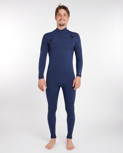 0 3/2 Furnace Comp Chest Zip Wetsuit Bleu H43M10BIP8 Billabong