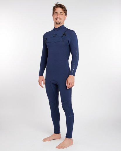 1 3/2 Furnace Comp Chest Zip Wetsuit Bleu H43M10BIP8 Billabong