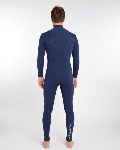 3 3/2 Furnace Comp Chest Zip Wetsuit Bleu H43M10BIP8 Billabong