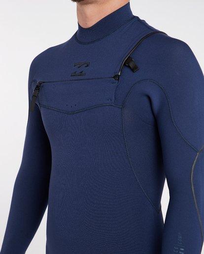 4 3/2 Furnace Comp Chest Zip Wetsuit Bleu H43M10BIP8 Billabong