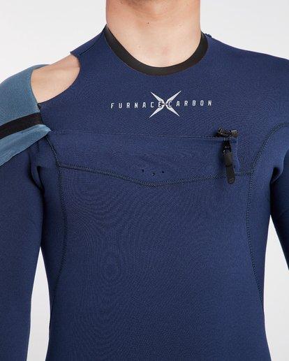 8 3/2 Furnace Comp Chest Zip Wetsuit Bleu H43M10BIP8 Billabong