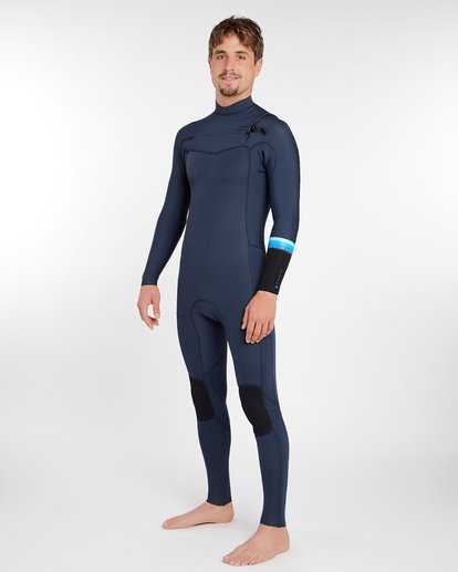 1 3/2 Revolution Dbah Chest Zip Wetsuit Bleu H43M12BIP8 Billabong