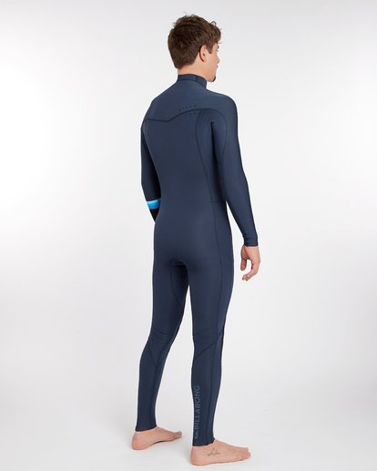 2 3/2 Revolution Dbah Chest Zip Wetsuit Bleu H43M12BIP8 Billabong