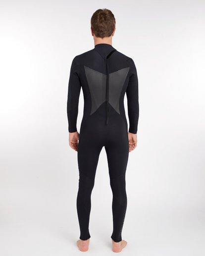 3 3/2 Absolute Back Zip Wetsuit Noir H43M16BIP8 Billabong