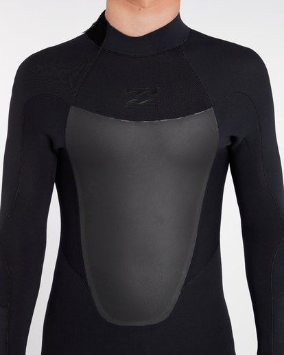 4 3/2 Absolute Back Zip Wetsuit Noir H43M16BIP8 Billabong