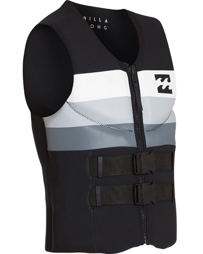 3 Dbah CGA Wake Vest Noir H4VS03BIP8 Billabong