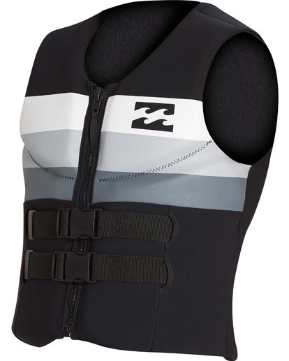6 Dbah CGA Wake Vest Noir H4VS03BIP8 Billabong