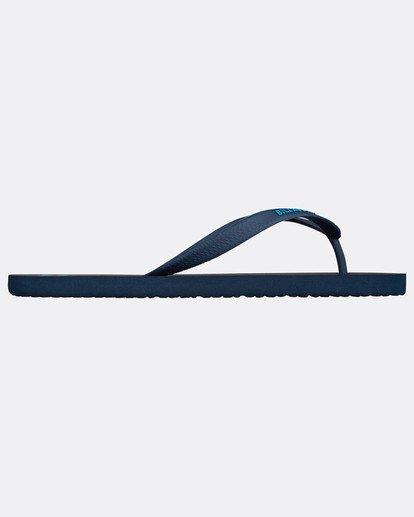 2 Tides Solid Sandals Blue H5FF01BIP8 Billabong